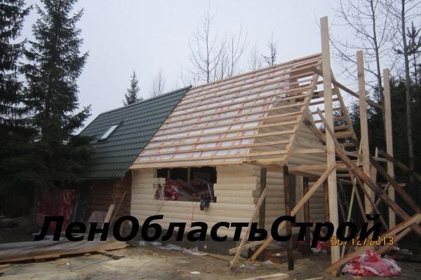 Пристройку к деревянному дому своими руками из